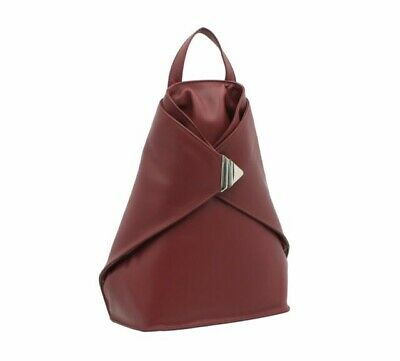 £45 • Buy Visconti Leather Backpack Style 18258 - Burgundy