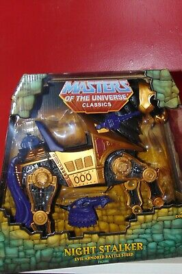 $99.99 • Buy MASTERS OF THE UNIVERSE CLASSICS MOTUC Night Stalker Sealed Horse Worldwide