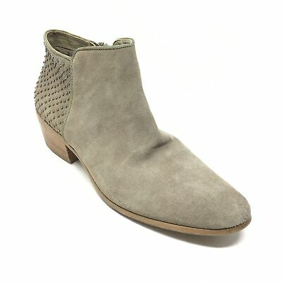 Women's Steve Madden Paver Ankle Boots Booties Shoes Size 10 Gray Suede J9 • 16.63£