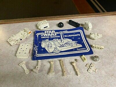 $ CDN4.11 • Buy Kenner Star Wars Vintage 1978 A New Hope DROID FACTORY Near Complete Parts Lot