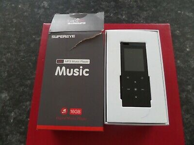 SUPEREYE Bluetooth Touch Digital Audio Portable  MP3 Player • 8.50£