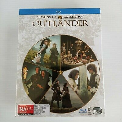 AU125 • Buy RRP$164 Outlander Series Complete Season 1 2 3 4 5 New Blu Ray BOX SET Free Post