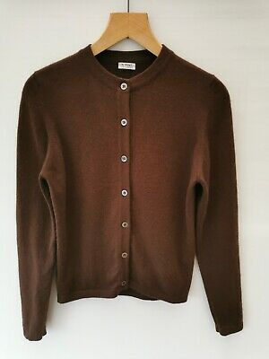 N.Peal Pure Lixury Cashmere Cardigan Size M 12 14 UK Women's Sweater Jumper  • 50£