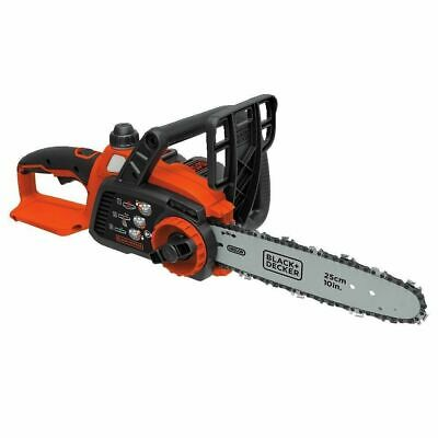 "View Details NEW Black & Decker LCS1020 20V MAX Cordless LITHIUM-ION 10"" Chainsaw W/ Battery • 69.48£"