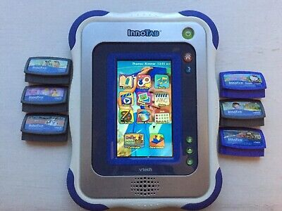 Vtech Innotab Blue With Games And Downloads And Case  • 4.10£