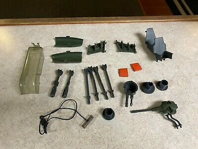 $ CDN26.16 • Buy Vintage GI-JOE COBRA Vehicle Parts Lot - 1983 DRAGONFLY [XH-1] ASSAULT COPTER