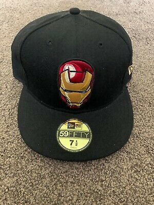 New Era Fitted - 7.5 - 59FIFTY - Marvel Iron Man • 7£