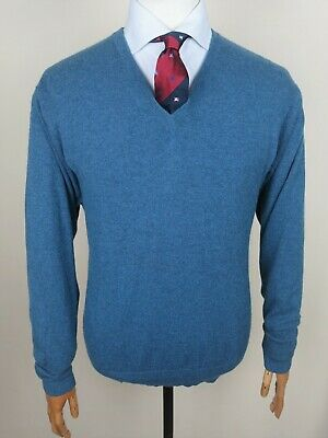 N. Peal £269 100% Cashmere Jumper Sweater Pullover James Bond 007 Luxury • 99.99£