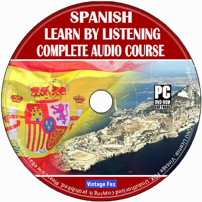 £3.99 • Buy Spanish Language Course Learn By Listening From Beginners To Advance Audio CD