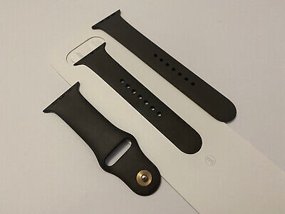 Genuine Apple Watch Sport Band Strap COCOA Brown 44mm 42mm S/m M/l • 29.99£