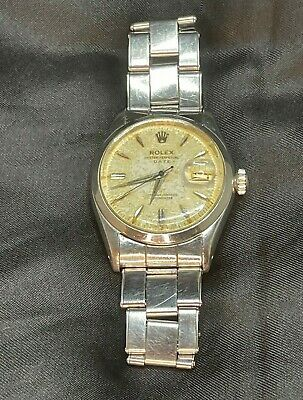 $ CDN4872.17 • Buy Vintage Rolex Date Just 6534 Roulette Dial - All Original Parts, Works Great!