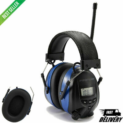 Rechargeable Ear Defenders With Bluetooth FM/AM Digital Radio And Built-In • 96.12£