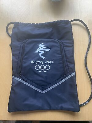 £14.99 • Buy Winter Olympics Beijing 2022 Gym Bag Fun Backpack Sports Pouch No Tags