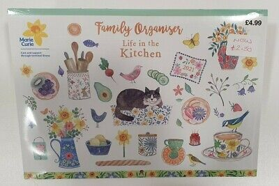 (GLO) 2021 Life In The Kitchen Family Organiser • 1.99£