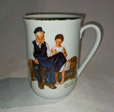 $ CDN12 • Buy Norman Rockwell Museum The Lighthouse Keeper's Daughter Mug Cup 1982 (#493)