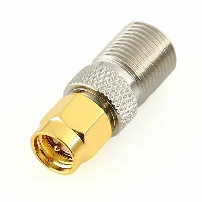 £2.95 • Buy SMA Male (male Pin) To F Type Jack Female Straight RF Coaxial Connector Adapters