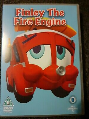 Finley The Fire Engine Educational Kids Film DVD • 1.99£