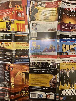 £1.95 • Buy Replacement - Dvd Covers / Sleeves / Inlays - Titles A-K (NO DISC'S) ⭐️VGC⭐️