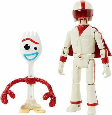 £7.99 • Buy Disney Pixar Toy Story 4 17 Cm Figure - Forky And Duke Caboom