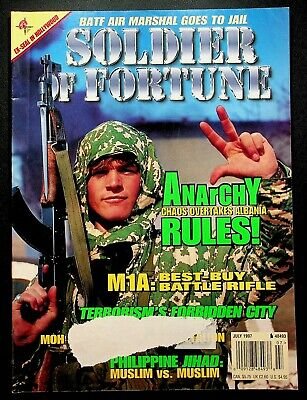 $14.39 • Buy Soldier Of Fortune Magazine July 1997 BATF Air Marshal Albania Anarchy M1A Rifle