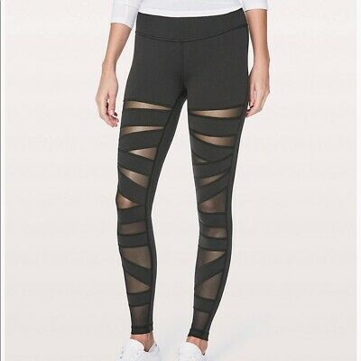 $ CDN63.78 • Buy Lululemon Wonder Under Mesh Leggings Sz 8