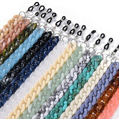 AU3.98 • Buy Sunglasses Mask Chain Glasses Holder Spectacles Strap Eyeglass Lanyard Cord Rope