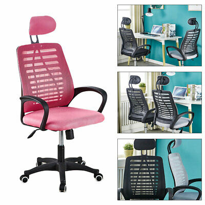 AU86.98 • Buy Ergonomic Office Chair High Back Seat Computer Gaming Adjustable Height Mesh AUS
