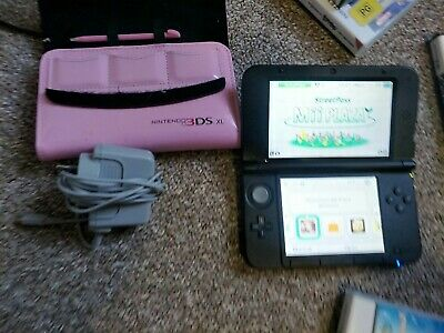 AU165 • Buy Nintendo 3ds XL With 4gb SD Card + 4 Ds Games + Hello Kitty Case + Charger