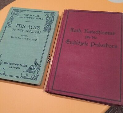 Vintage Catholic Religious Books. Catechism, Reverend A W F Blunt. Apostles • 2.50£