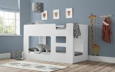 £529.99 • Buy Solar Bunk Bed White Childrens Kids Bed  2 Man Delivery By Appointment