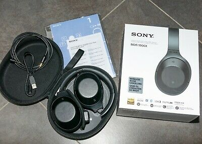 Sony MDR-1000X Noise Cancelling Headphones • 50£