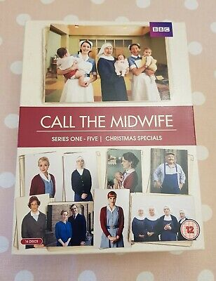 Call The Midwife - Series 1-5 Plus Christmas Specials DVD Boxset • 35£