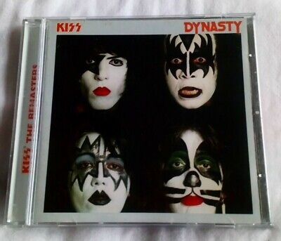 Kiss Dynasty CD 1997 Paul Stanley Ace Frehley Gene Simmons Peter Criss  • 3.75£