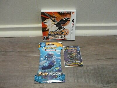 AU57.96 • Buy Pokemon Ultra Sun, Nintendo 3DS, Complete - Game, Case And Manual+Cards**
