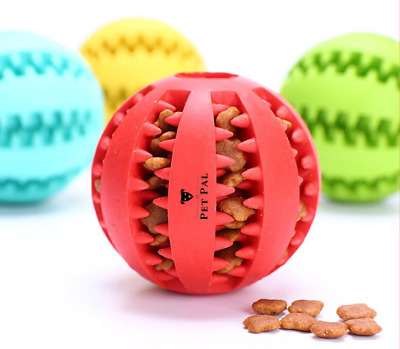 £5.95 • Buy Pet Pal Dog Ball Chew Toy | Indestructible Chew Toy | Treat Dispensing Ball