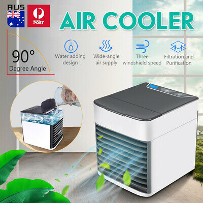 AU23.49 • Buy Portable Conditioner Air Cooler LED Bed Desk Cooling Fan Humidifier Purifier USB