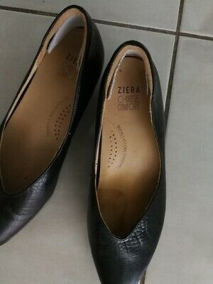 AU35 • Buy Womens Black Ziera Wedge Shoes  - Size 9