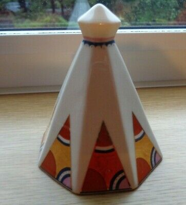 Poole Pottery Collection Iona Bell Art Deco Pattern. 4inches High • 2.90£