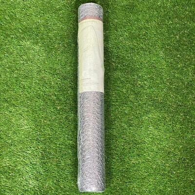 Galvanised Wire Netting Mesh Garden Fencing Poultry Hexagonal 13mm 0.6 X 10m • 9.49£