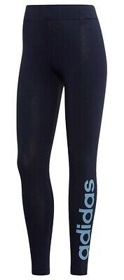 $ CDN35.05 • Buy New Womens Ladies Adidas Leggings Bottoms Pants - Running Fitness Gym - Navy