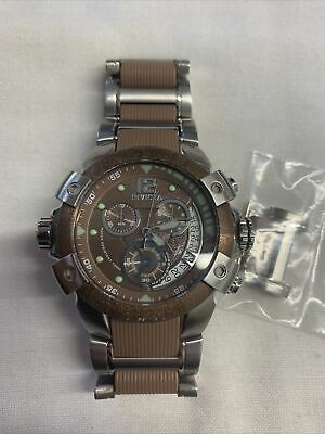 Invicta Specialty Collection 6304 Men's Watch Chronograph Quartz Brown 51mm • 73.11£