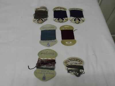 £12 • Buy Chadwicks Vintage 100% Wool X 3 + Wool & Nylon X 2 For Mending  Made In England