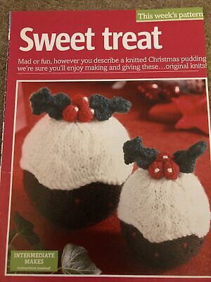 Knitted Christmas Pudding Pattern • 1£