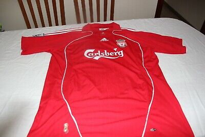 T-Shirt Of The Liverpool Brand Adidas Size 2XL Advertising Carlsberg Shirt • 20.41£