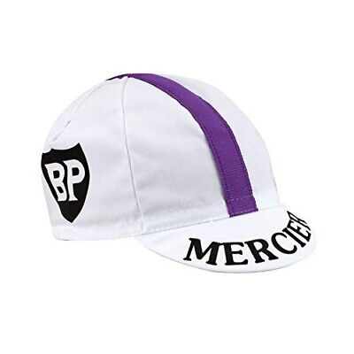 Mercier Retro Vintage Cycling Team Summer Under Helmet Made Italy Bike Hat Cap  • 3.99£