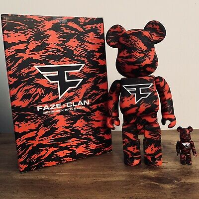 $399 • Buy Bearbrick X Faze Clan 100% And 400% LIMITED RELEASE **READY TO SHIP**