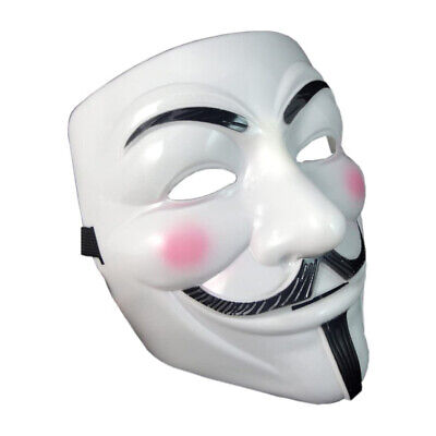 £5.79 • Buy Fancy Face Mask Hacker V Anonymous For Vendetta Guy Fawkes Xmas Party Dress