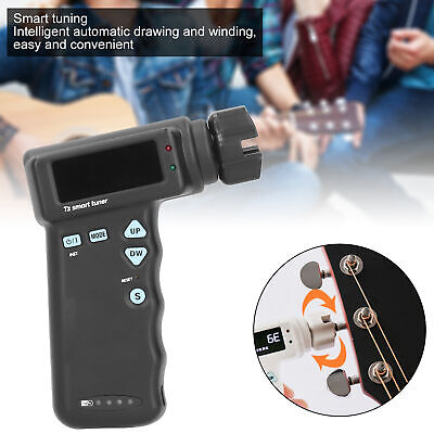 AU96.86 • Buy Guitar Smart Tuner Automatic Ukulele With USB Cable Musical Instrument Accessory