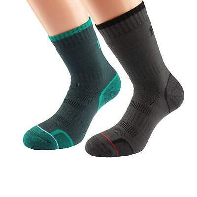 1000 Mile Combat Socks Military Army Style Single Layer Twin / Two Pair Per Pack • 19.99£