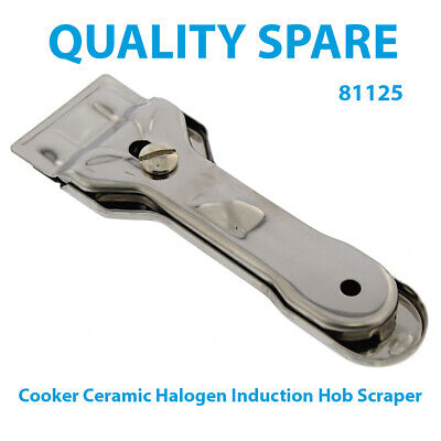Stoves Non Scratch Ceramic Halogen Induction Hob Scraper And Blade • 3.50£